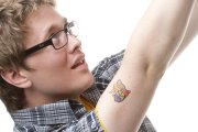 Temporary tattoos: Yeah, you were a badass. You didn't flinch while your mom applied these with a warm washcloth.