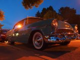 Classic cars from the Elvis era are common during Lake George's Elvis festival. Usually, the drivers are old enough to have seen the King in person without a parent or guardian.