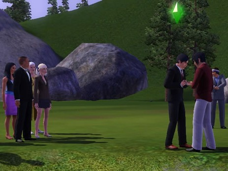 Sims, Sims 3, gay wedding, lgbt