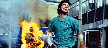 Film still from 28 Days Later.